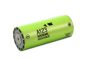 A123 3.2V 2500mAh Battery Cell
